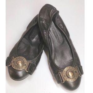 {Burberry} Medallion Ballet Flats